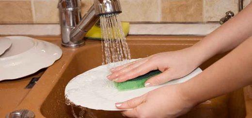 روش ظرف شستن