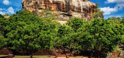 سیگیریا در سریلانکا