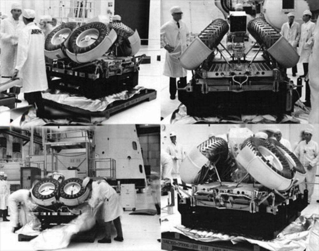 LRV خودرویی که در ماه استفاده شد