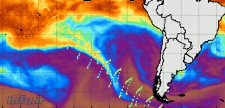 امواج مرموز قطب جنوب