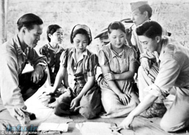 زنان آرامش بخش- اسارت جنسی زنان کره ای توسط سربازان ژاپنی