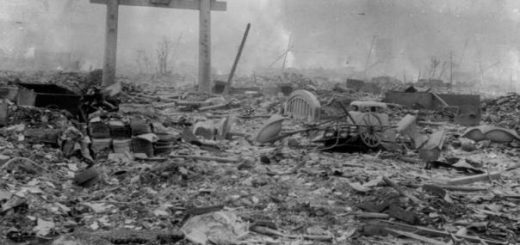 ناگازاکی پس از بمباران اتمی