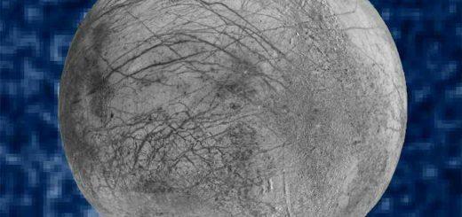 قمر اروپای سیاره ژوپیتر