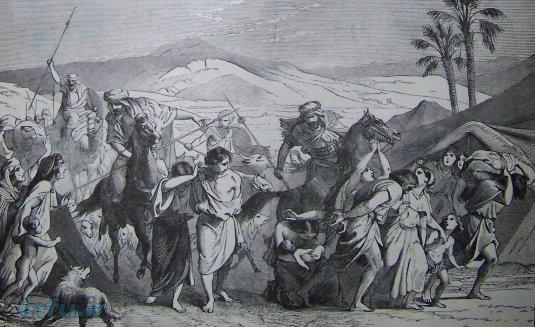 افسانه تبعید و اسارت بنی اسرائیل