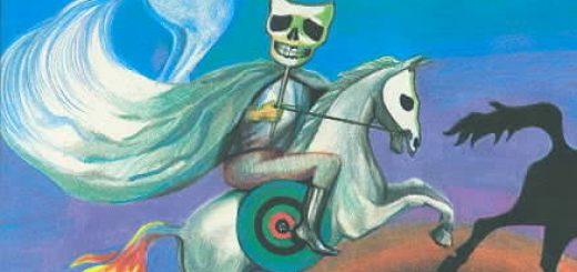اسب پریده رنگ را بنگر