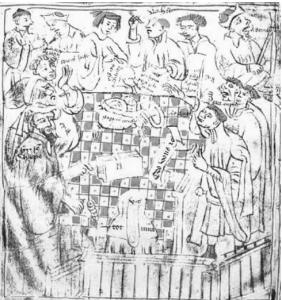 صفحه شطرنجی حسابداری و «چک» کردن حسابها- معبدی های ایرلند