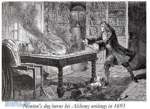 اسحاق نیوتن کیمیاگر