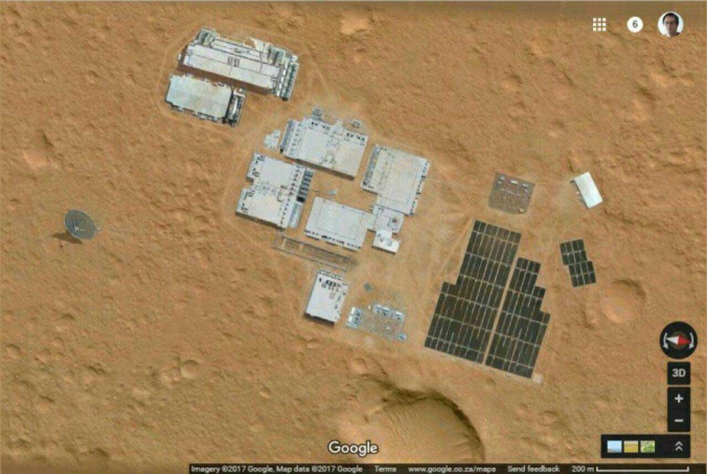 پایگاه انسانی در مریخ