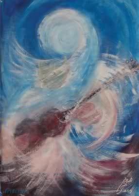 بزم ایرانی (نکیسا)  اثر استاد شمس خلخالی