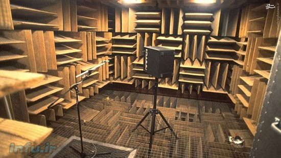 ساکت ترین اتاق دنیا