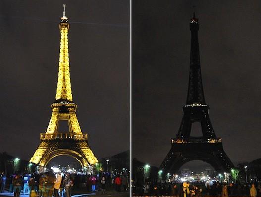 بسیاری از بناهای مشهور در جهان چراغهای خود را خاموش خواهند کرد