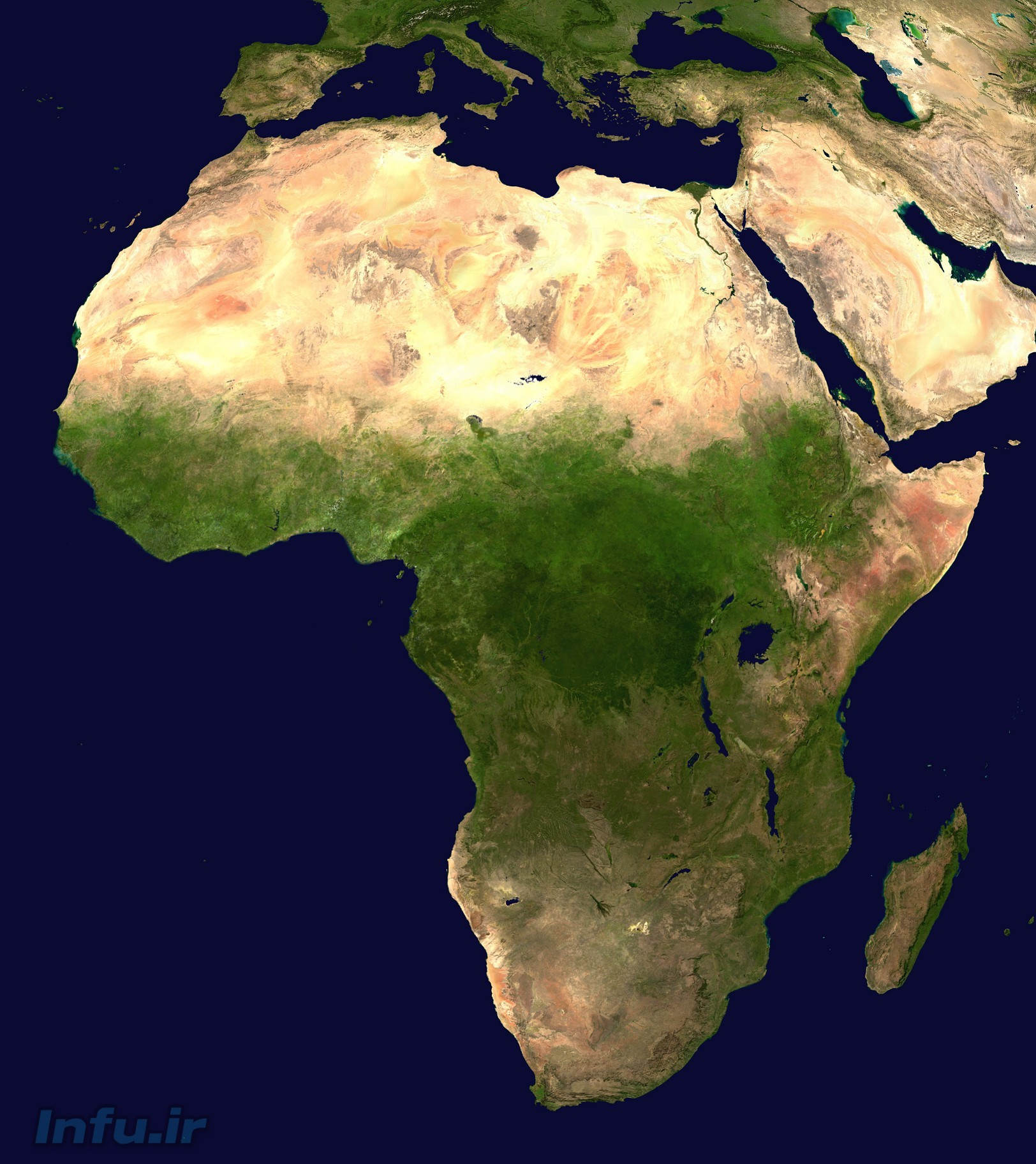 رشد جمعیت در آفریقا عاملی کلیدی در افزایش جمعیت کل جهان است