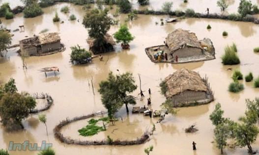 تغییرات آب و هوایی شمار بلاهای طبیعی مانند سیل و طوفان را افزایش داده است