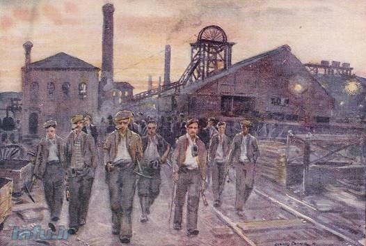 کارخانههای متکی بر انرژی آب که در مناطق دوردست طبیعی بنا شده بودند نمیتوانستند در صورت بروز شورش کارگری بلافاصله به قدرت دولتی برای برقراری نظم توسل جویند