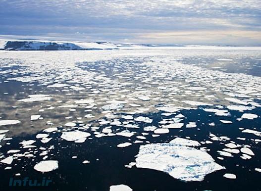 آب شدن یخهای قطبی و بالا آمدن سطح دریاها از عوارض تغییرات آب و هوایی است