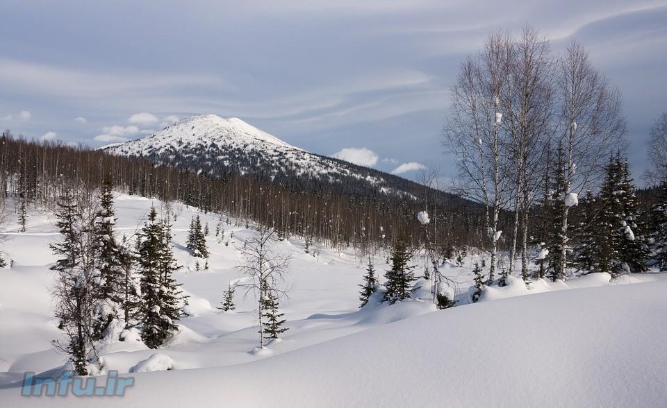 CC0: نمایی از زمستان در سیبری