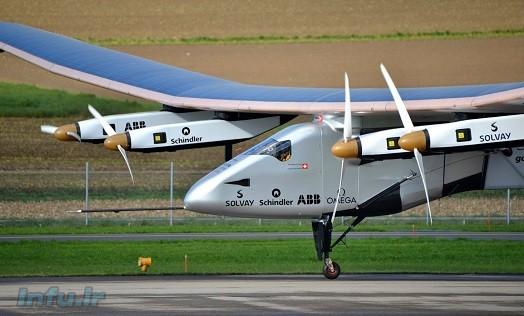 «سولار ایمپالس ۲» رکورد طولانیترین پرواز بدون توقف تاریخ را ثبت کرد