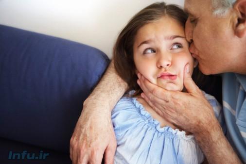 چرا لازم نیست کودک به آغوش دیگران برود؟