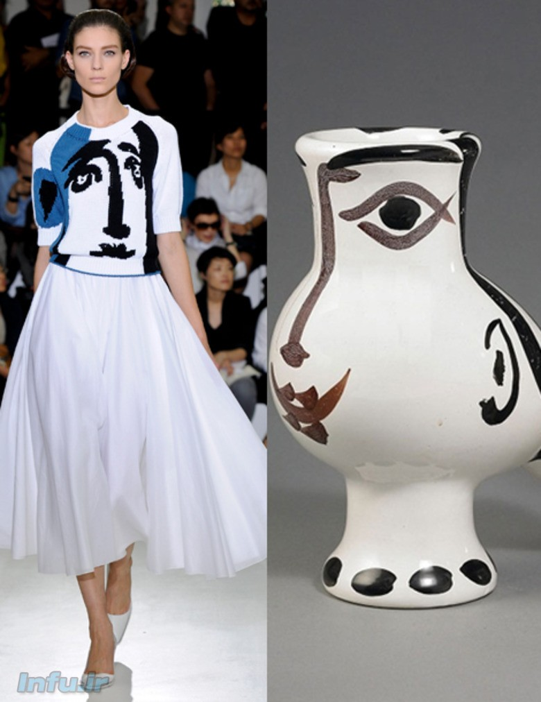 لباسی برگرفته از اثر پیکاسو