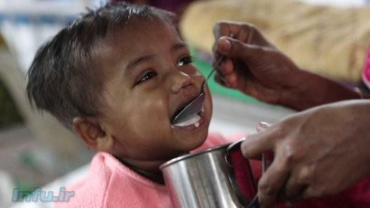 سالانه سه میلیون کودک زیر پنج در جهان سال بر اثر سوء تغذیه میمیرند