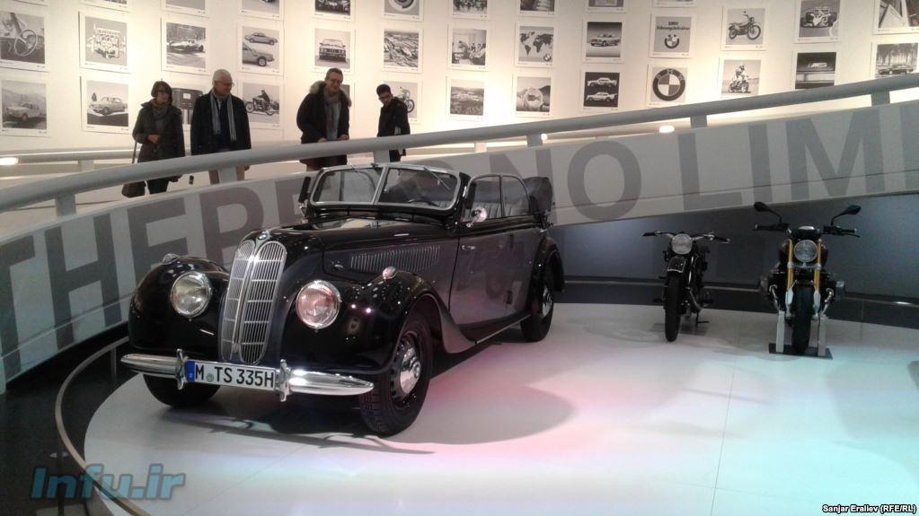 موزه خودروهای بامو در مونیخ