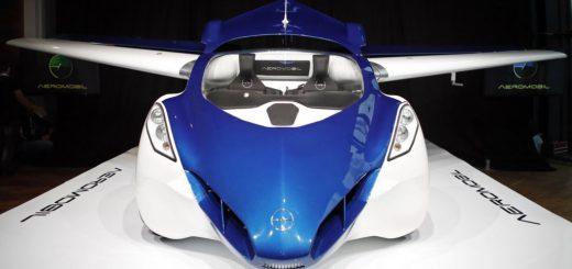 نمونهای از یک ایروموبیل که در اسلواکی ساخته شده است