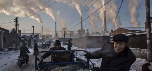 نیروگاه زغال سنگی در چین؛ عکس از کوین فرایر برنده جایزه ورلد پرس فوتو