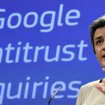 مارگرت وستگر، کمیسر رقابتهای تجاری در اتحادیه اروپا