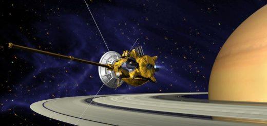 کاسینی در مدار سیاره کیوان