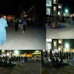 راس ساعت11:10دقیقه شب بیمارستان طالقانی کرمانشاه