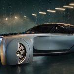 خودرو ۱۰۳اکس که به تازگی توسط رولزرویس معرفی شده لوکسترین خودرو بدون راننده جهان محسوب می شود، منبع عکس سایت رسمی رولز رویس