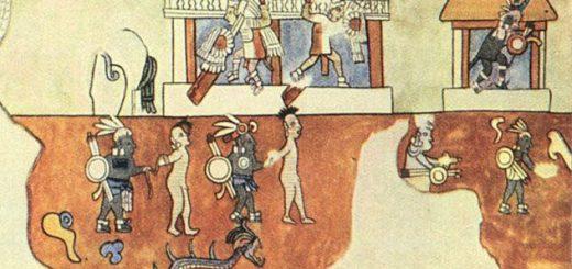 دیوار نوشته های قوم مایا