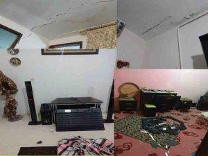 وضعیت بعضی ازمنازل شهر پاوه پس از زلزله