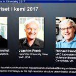 برندگان جایزه نوبل شیمی در سال ۲۰۱۷