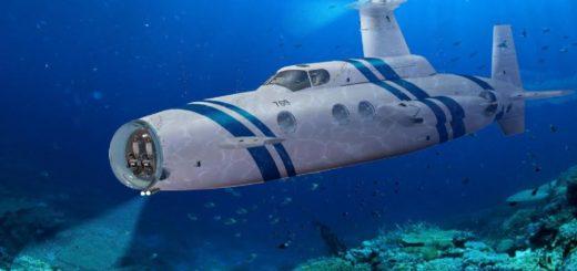 زیردریایی لوکسشخصی که داخل آن شبیه کشتیهای تفریحی ساخته شده ۱۸ متر طول دارد و دارای ظرفیت ۲۰ سرنشین است.