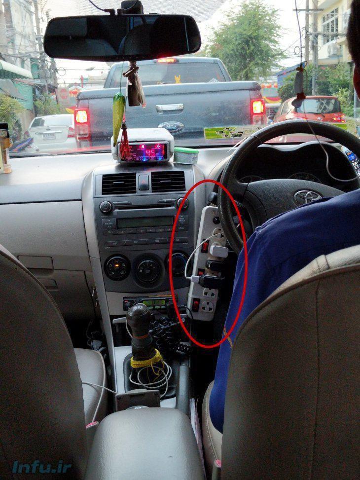 تاکسی تو هستی بقیه ی تاکسی ها اداتو در میارن