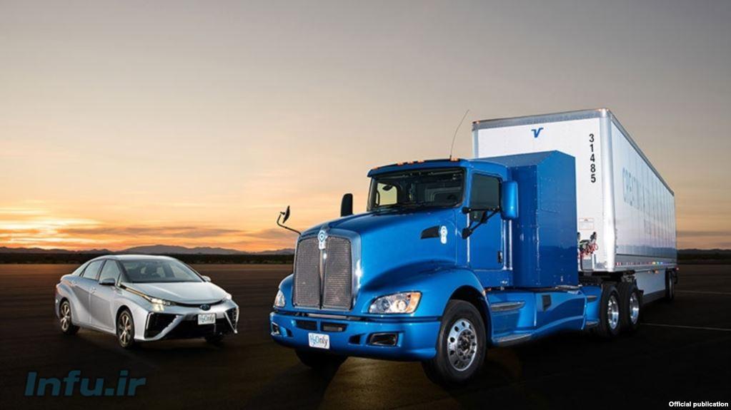 شرکت تویوتا قصد دارد اولین کامیونی را که با پیل سوختی هیدروژنی کار میکند به بازار عرصه کند. منبع سایت تویوتا