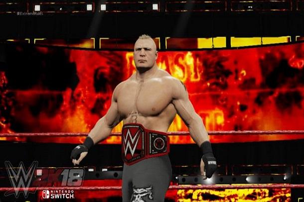 بازی WWE 2K18