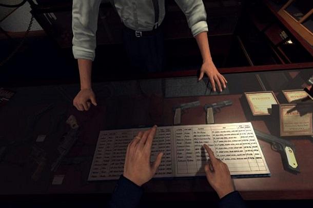 نسخه واقعیت مجازی L.A. Noire