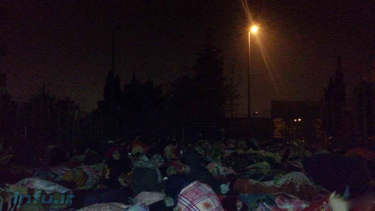 دختران خوابگاهی دانشگاه تهران