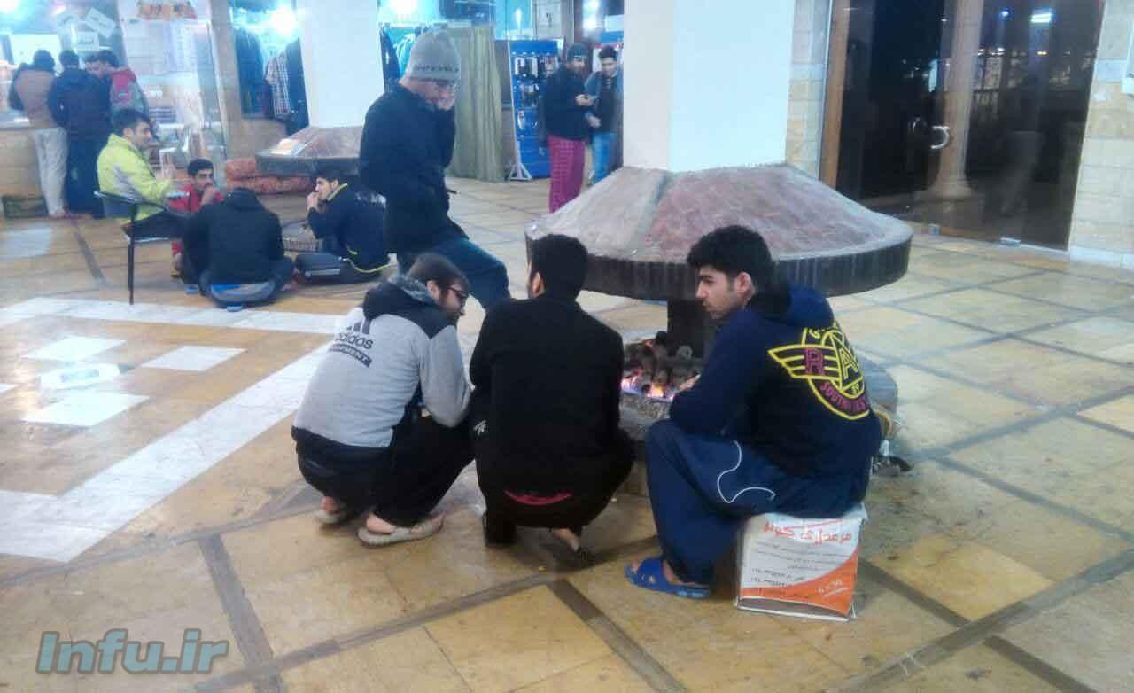 دانشجویان کوی دانشگاه تهران