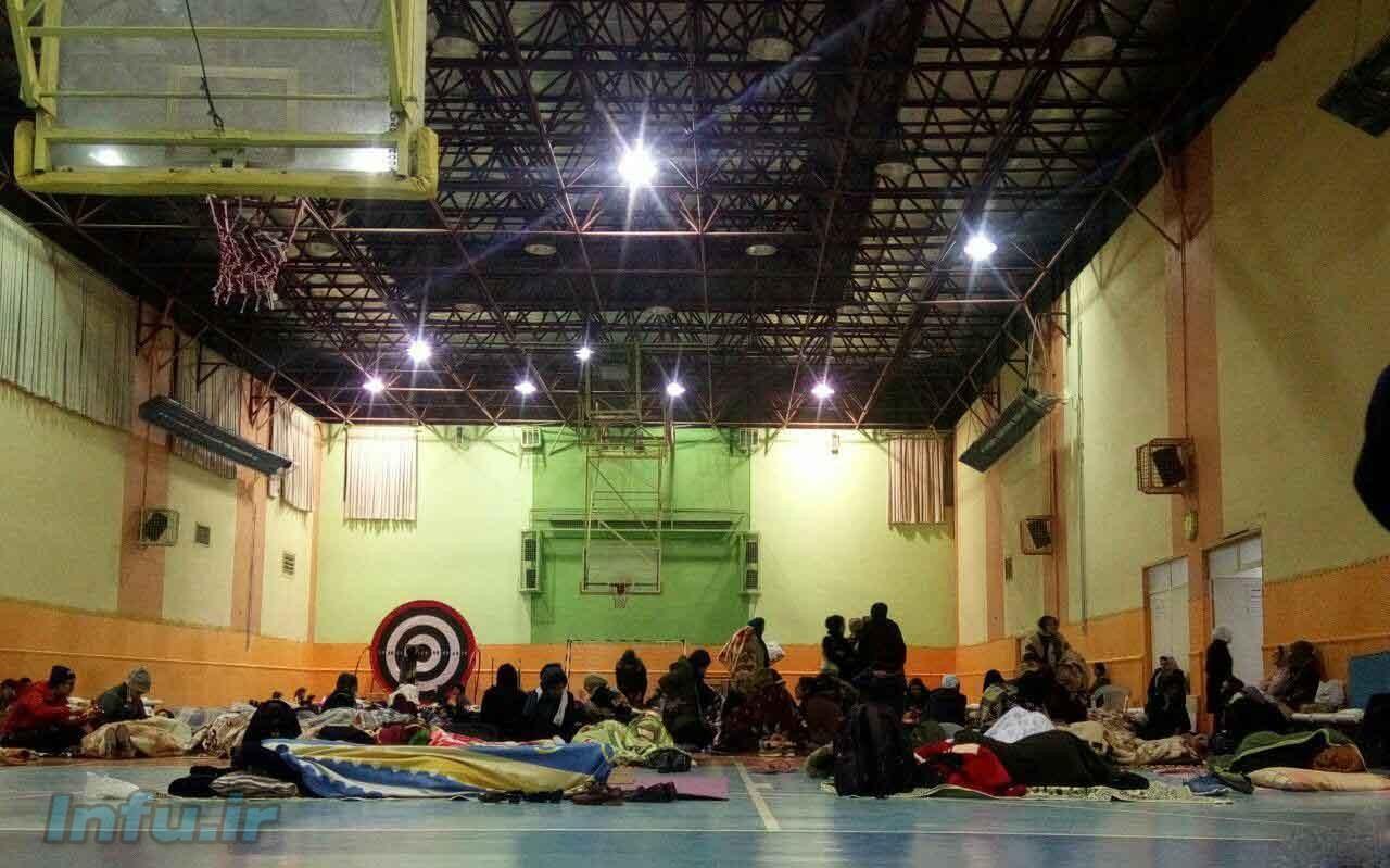 دختران خوابگاهی دانشگاه شهید بهشتی