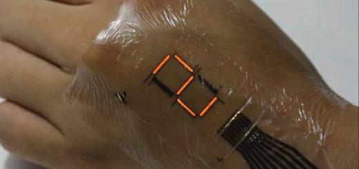 پوست الکترونیکی