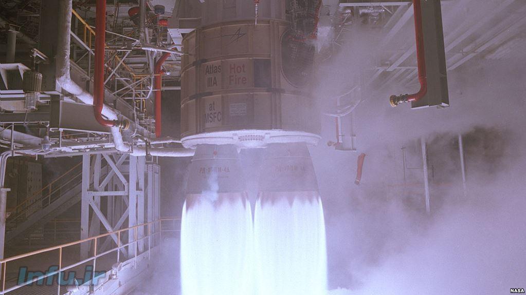 موتور RD-۱۸۰ که ناسا از آن استفاده میکند