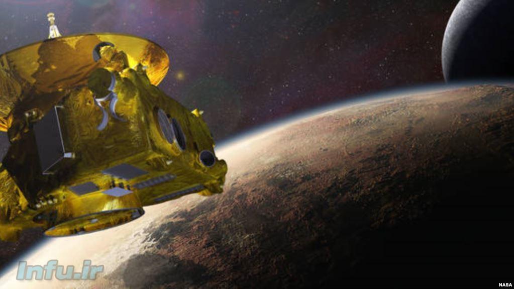 کاوشگر افقهای نو و پلوتون و قمر آن شارون