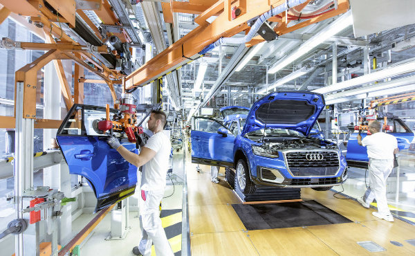 Audi-Production-Line