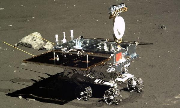 کاوشگر Jade Rabbit چین که با فضاپیمای Chang'e 3 به ماه ارسال شده بود