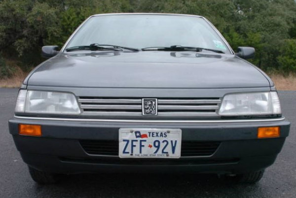 Peugeot 405 in the USA