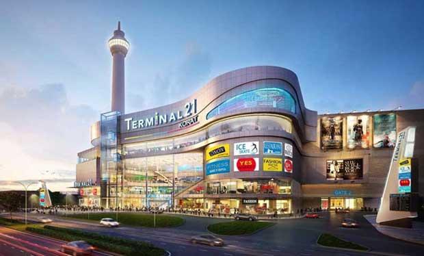 دیدنیهای تور بانکوک,مرکز خرید ترمینال ۲۱