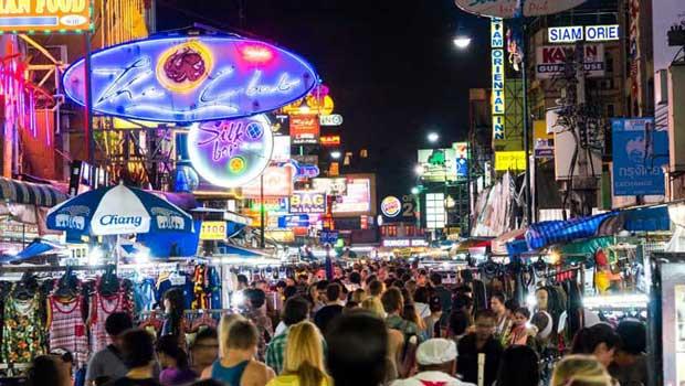 دیدنیهای تور بانکوک,خیابان خائوسان